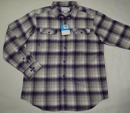 Columbia 100% Cotton Flannel Button Down Shirt. Men's Large.
