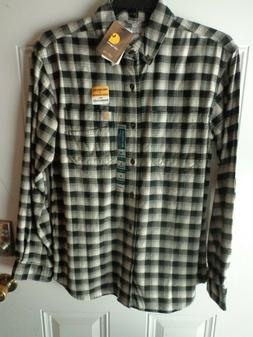 Carhartt 103314C - Rugged Flex Hamilton Plaid Flannel Shirt