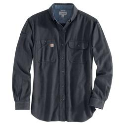 Carhartt 103318C - Beartooth Flannel Shirt - Granite Heather