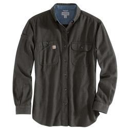Carhartt 103318C - Beartooth Flannel Shirt - Peat Heather 35