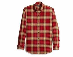 Arrow 1851 Men Saranac Flannels Long Sleeve Button Down Shir
