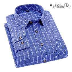 DAVYDAISY 2018 New Arrival Men <font><b>Shirt</b></font> Lon