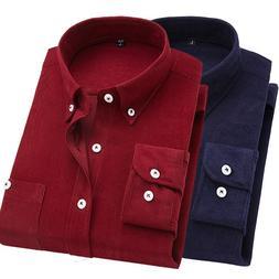 2019 New Men <font><b>Shirt</b></font> Long Sleeve Slim Fit