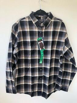 2060) NWT Pendleton Men's Cotton Mason Flannel Shirt Button-