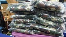 3/4xl Camo Flannel Shirt New Ready.. Warm with pockets. Best