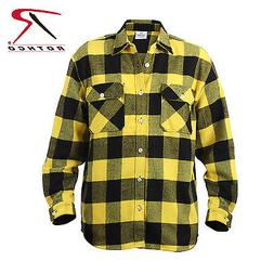 Rothco 4649 Extra Heavyweight Buffalo Plaid Flannel Shirts -