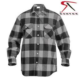Rothco 4690 Extra Heavyweight Buffalo Plaid Flannel Shirts -