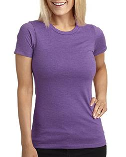 Next Level Apparel 6610 CVC Crew Tee - Purple Berry44; Extra