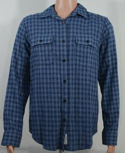 Lucky Brand #7594 NEW Mens Medium Lightweight Flannel Saturd
