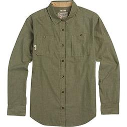 Burton Men's Glade Long Sleeve Shirt, X-Large, Olive Night C