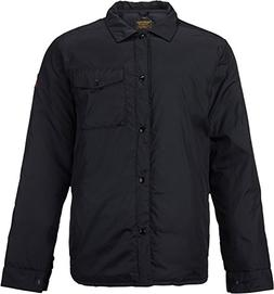Burton Men's Wayland Down Shirt, True Black, Large