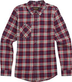 Burton Women's Grace Long Sleeve Woven Down Shirt, Anemone H