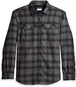 Columbia Men's Silver Ridge Flannel Long Sleeve Shirt, Mediu