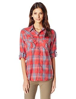 Columbia Sportswear Women's Beadhead Flannel Long Sleeve Shi