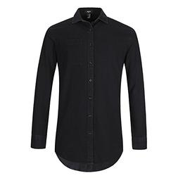 NUTEXROL Men's Premium Polka Dot Print Casual Shirt Short Sl