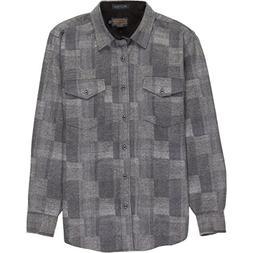 Pendleton Men's Fitted Boro Shirt Boro Grey LG