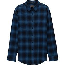 Pendleton Men's Lister Flannel Shirt Blue Ombre LG / R