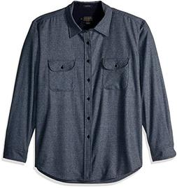 Pendleton Men's Long Sleeve Button Front Fitted Marverick Me