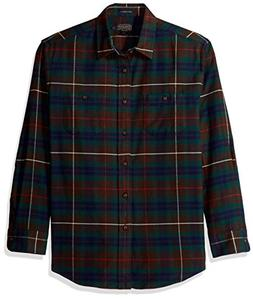 Pendleton Men's Long Sleeve Button Front Hawthorne Flannel S
