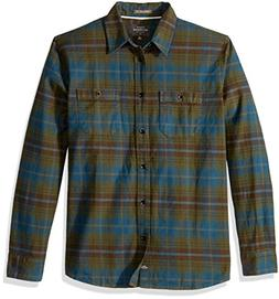 Quiksilver Waterman Men's Raleigh Button Down Flannel Shirt,
