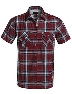 Style by William Western Casual Chest Pockets Button Down Sh