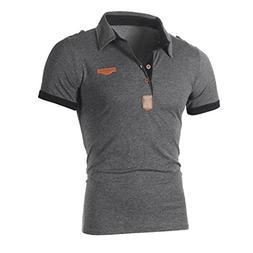 Vovotrade Fashion Short Sleeve T Shirt Personality Men's Cas