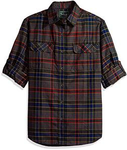 Woolrich Men's Hiker's Trail Flannel Shirt Ii, New Royal Blu