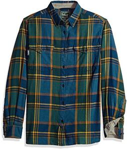 Woolrich Men's Stone Rapids Organic Cotton Yarn-Dye Flannel