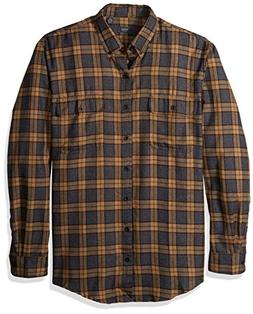 Arrow Men's Big and Tall Long Sleeve Hunting Plaid Flannel S