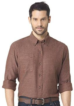 Arrow Men's Heritage Regular-Fit Twill Button Down Shirt, So