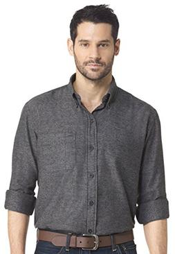 Arrow Mens Heritage Regular-Fit Twill Button Down Shirt, Sol