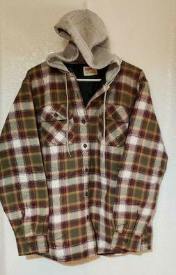 authentic men s long sleeve quilted lined