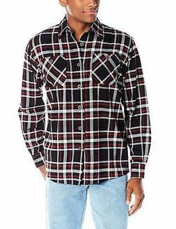 Wrangler Authentics Men's Big & Tall Long Sleeve Flannel