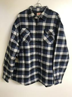 Wrangler Authentics Men's Long Sleeve Quilted Lined Flannel