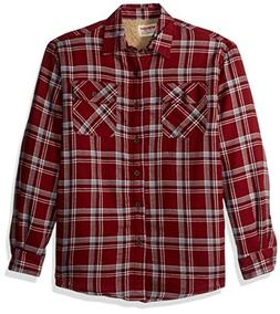 Wrangler Authentics Men's Long Sleeve Sherpa Lined  Shirt Ja