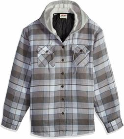 Wrangler Authentics Men's Quilted Lined Flannel Shirt Jack