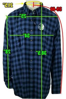 Izod Big & Tall Slim Fit Stratton Flannel Shirt Bright Colba