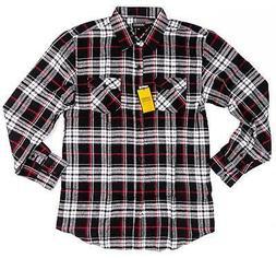 GIOBERTI Big Boys Long-Sleeve Flannel Shirt
