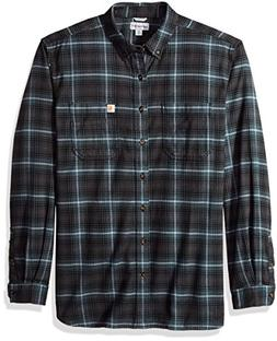 Carhartt Men's Big & Tall Rugged Flex Hamilton Plaid Shirt,