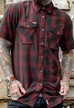 "Dixxon Flannel ""BISHOP"" 3XL. SHORTSLEEVE BAMBOO. NEW IN PACK"