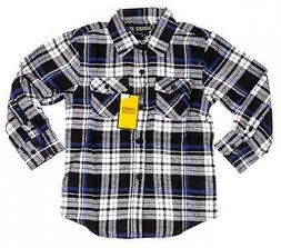 GIOBERTI Boys Long-Sleeve Flannel Shirt