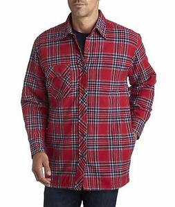 BP7002 Backpacker Men's Flannel Shirt Jacket with Quilt Lini