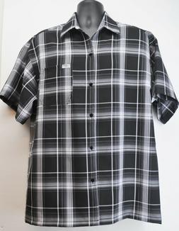 Brand New CalTop Button Up Shirt Men's Plaid Flannel Pattern