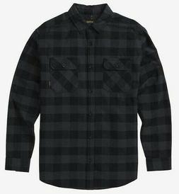 Burton Brighton Flannel Fleece Button Up Shirt MENs MEDIUM B