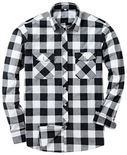 Alimens & Gentle Men's Button Down Regular Fit Long Sleeve P