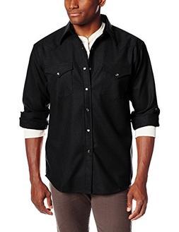 Pendleton Canyon Shirt - Long-Sleeve - Men's Black, XXL