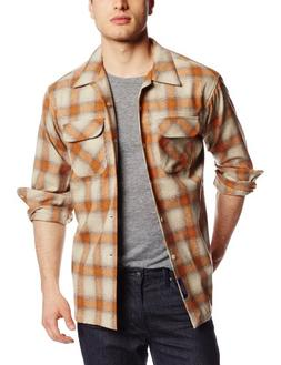 Pendleton Men's Classic Board Shirt, Rust, Medium