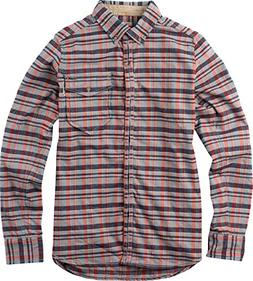 Burton Women's Cora Flannel Top, Monument Heather Gibson Pla