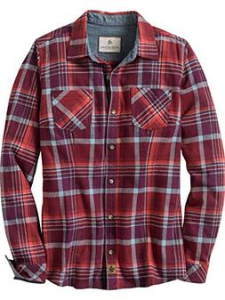 Legendary Whitetails Women's Cottage Escape Flannels Salmon