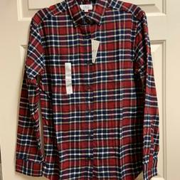 Croft & Barrow, Men's Extra Soft Flannel Shirt, Size S, NEW